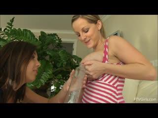 Melissa  Jenna Sativa - Lesbian, Big Tits, Natural Tits, Milk, 1