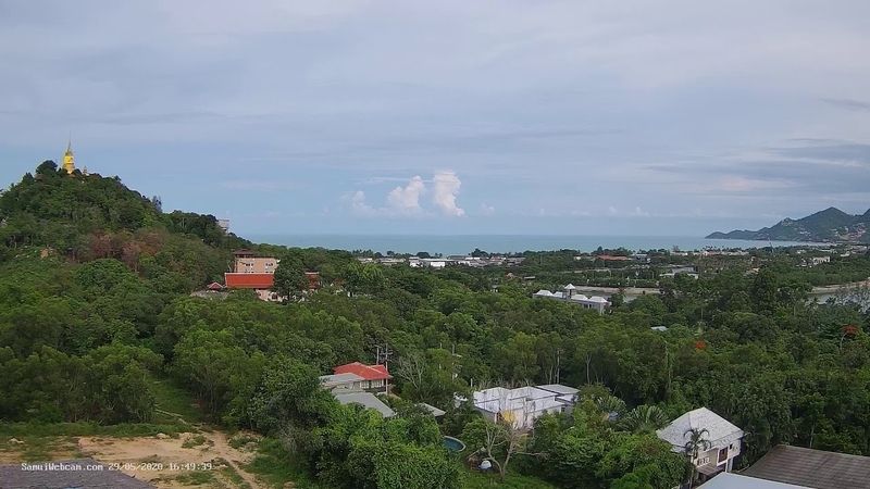 High Park Samui View Cam From Chaweng Koh Samui Thailand Live HD Webcam SamuiWebcam