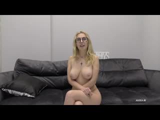Alexa Bi  Milf Teacher At Her First Porn Casting Ass Fuck  Anal Creampie