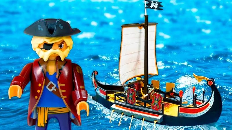 Un Barco pirata está roto Vídeos de juguetes para niños ¡Oh se dañó JUGUETES YOUTUBE