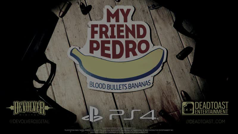 My Friend Pedro Available Now on PS4
