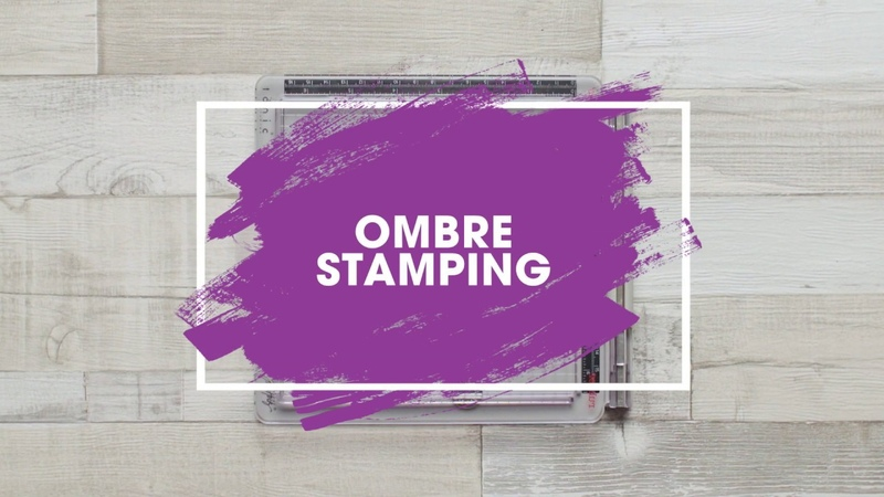 Stamping Technique: How to Achieve Ombre Stamping Tutorial