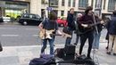 Beatles, Back in the USSR (cover by The Lodgers) - live in the streets of Richmond, UK 🇬🇧