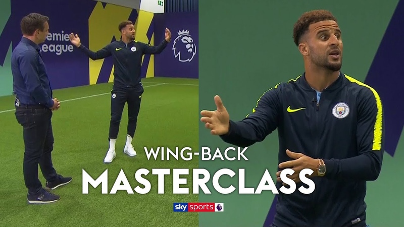 How to play wing back under Pep Guardiola Kyle Walker's Wing Back Masterclass