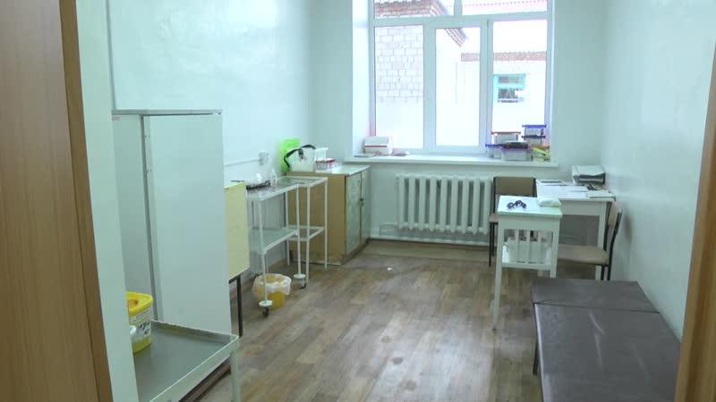 Капитальный ремонт врачебной амбулатории в Сафарово