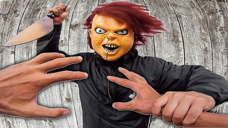 ĐỪNG CHẠM VÀO NÓ | Parkour POV vs Crazy Chucky | HALLOWEEN MOVIE