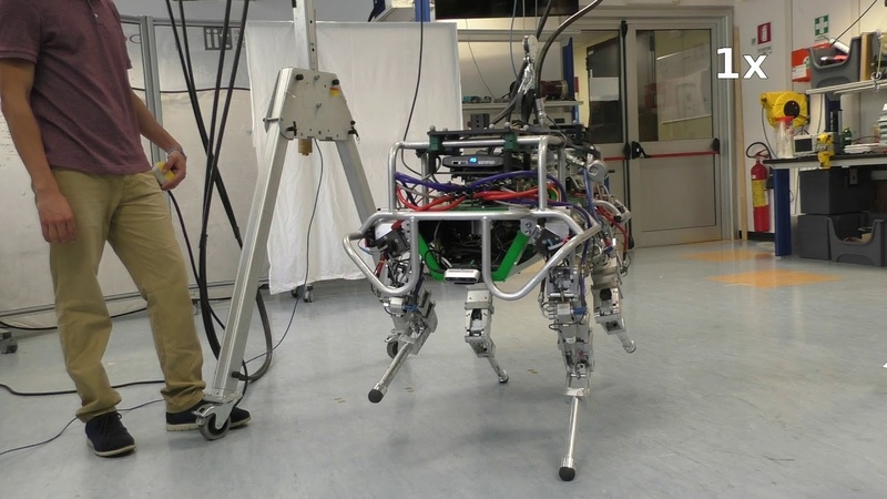 Line Walking and Balancing for Legged Robots with Point Feet