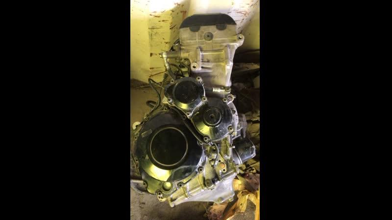 Проверка контрактного двигателя Suzuki GSX-R1000 (T708) перед отправкой клиенту | motod.ru