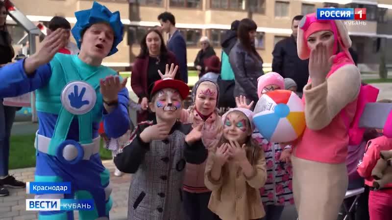 Праздник 1 литера ЖК Победный в сюжете телеканала Россия 1👍🏼