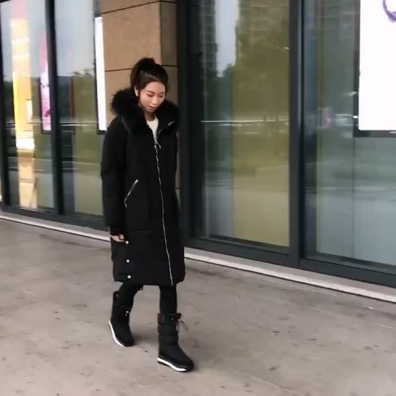 Женские зимние ботинки - дутики