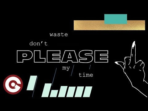 KHARFI FEAT JADE MILLION Don't Waste My Time Official Lyric Video