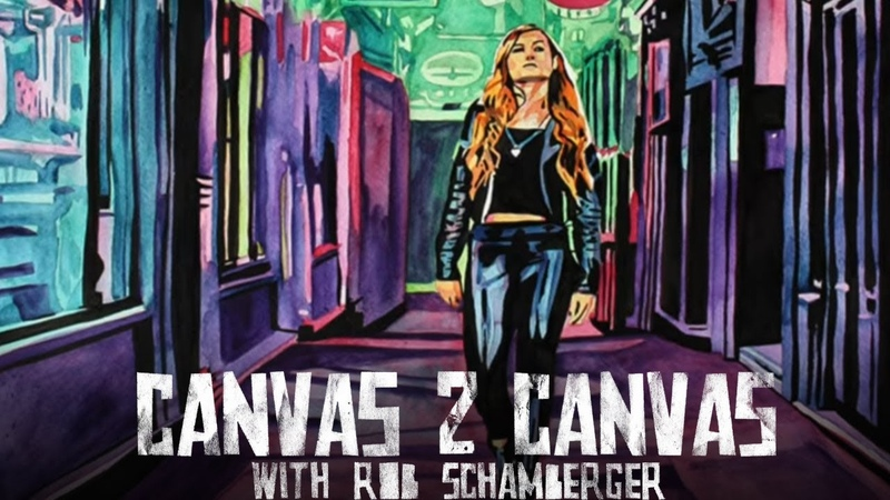 The Man in Cyber-land: WWE Canvas 2 Canvas
