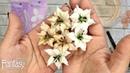Dies_Fantasy Лилии из бумаги, самые нарядные! Paper lily tutorial Мастер класс Скрапбукинг