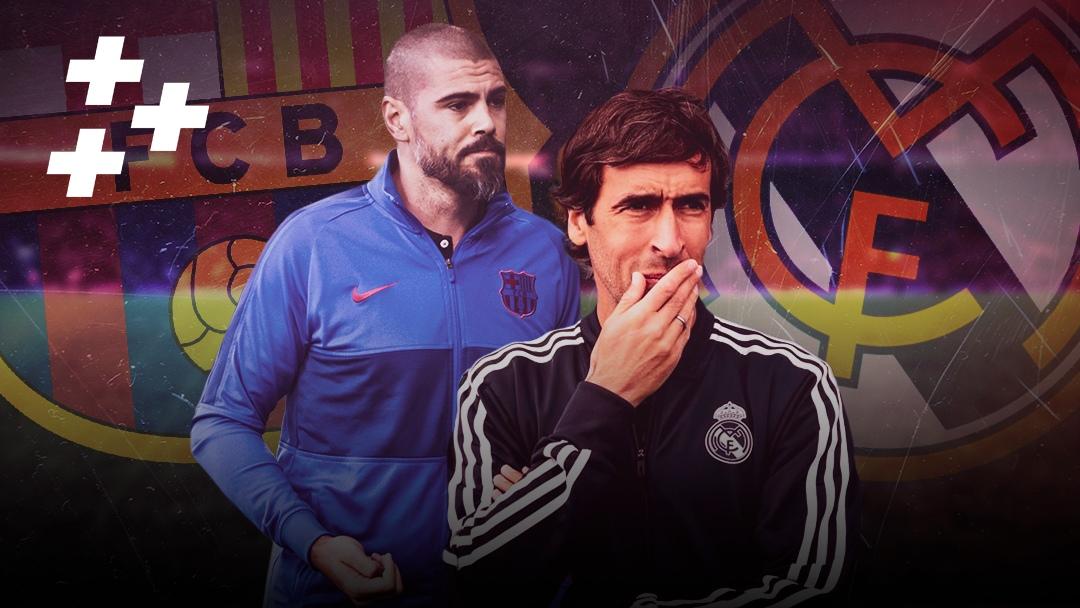 """Рауль и Виктор Вальдес тренируют в филиалах """"Реала"""" и """"Барсы"""". Как у них дела?"""
