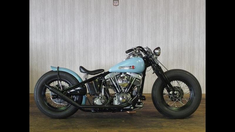 Harley Davidson 1977y Rigid Shovel Full Custom