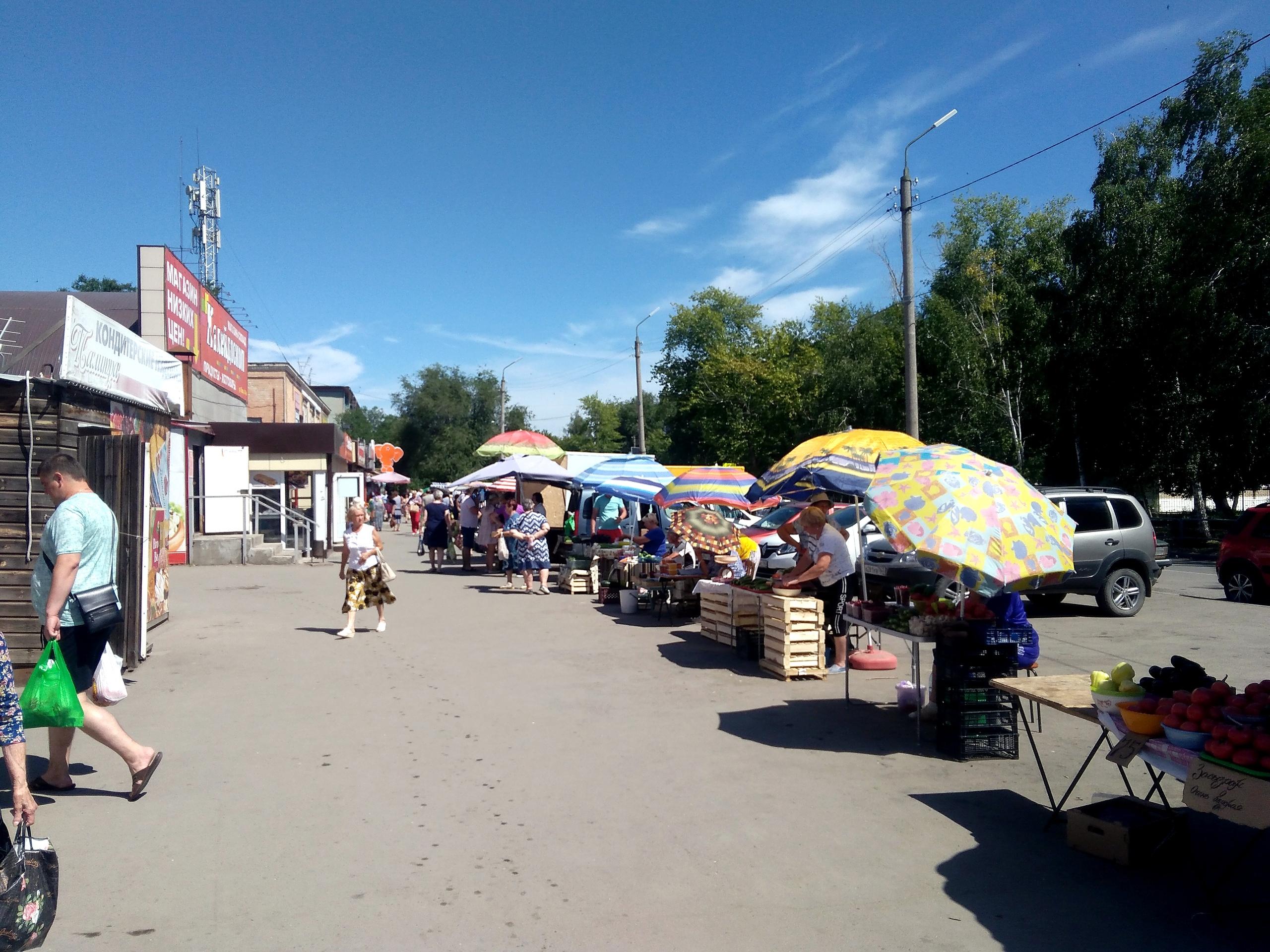 Рынок на Образцовской площадке собираются закрыть 2020