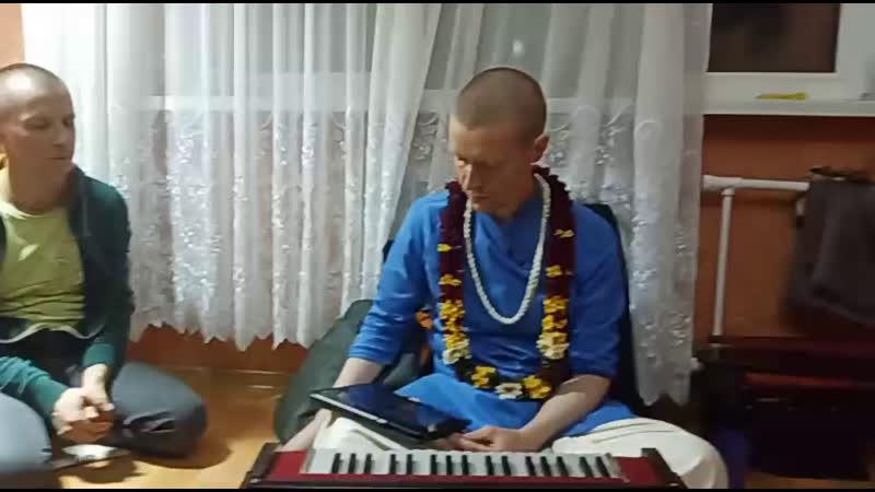 Нитай Мангала. Встреча учеников Е.М. Чайтанья Чандра Чарана прабху