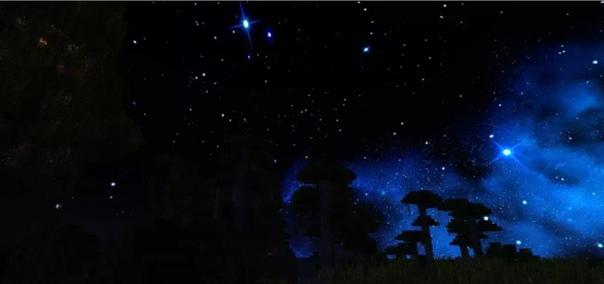 текстуры красивый космос небе для майнкрафт #10