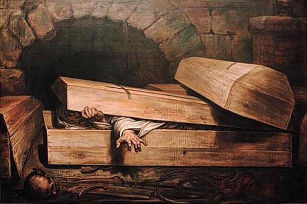 Причт убивает оживающих покойников ломом
