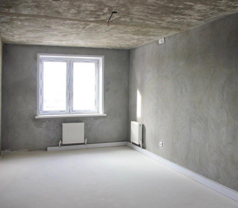 Черновая отделка квартиры от застройщика
