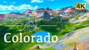 Colorado By Drone - Telluride, Aspen, Ice Lakes, Blue Lakes Trail, More 4K Travel Footage