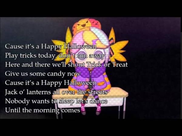 Kagamine Rin Happy Halloween English Translyrics