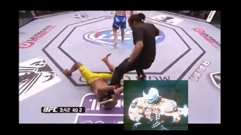 Chris Weidman vs Anderson Silva First Fight UFC Крис Вайдман побеждает Андерсона Сильву первый раз 11DeadFace