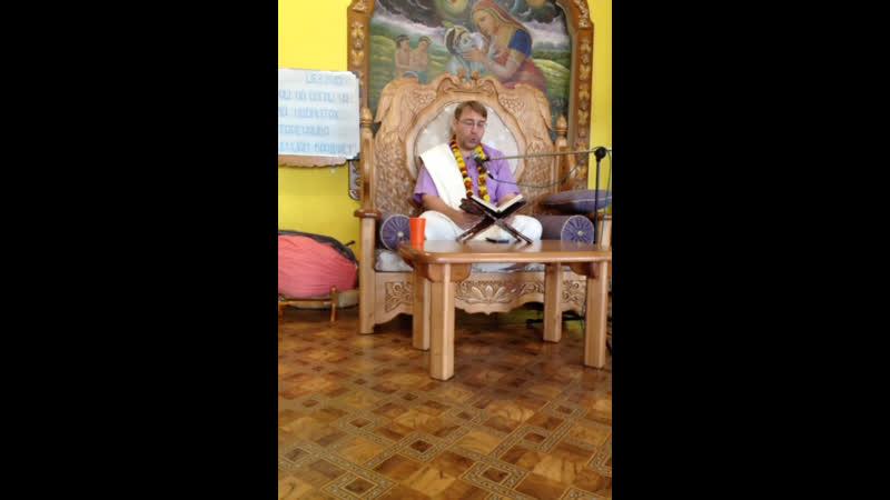 Варшана прабху ШБ 3.29.35 (Юдино храм)