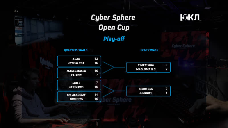 ЮКЛ x Cyber Sphere Open Cup | maslomaslo VS Cerberus Gaming | Grand Final Bo3 by GrOm_0_ZeKa