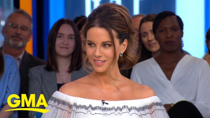 Kate Beckinsale's odd way of coping with her daughter going off to college l GMA