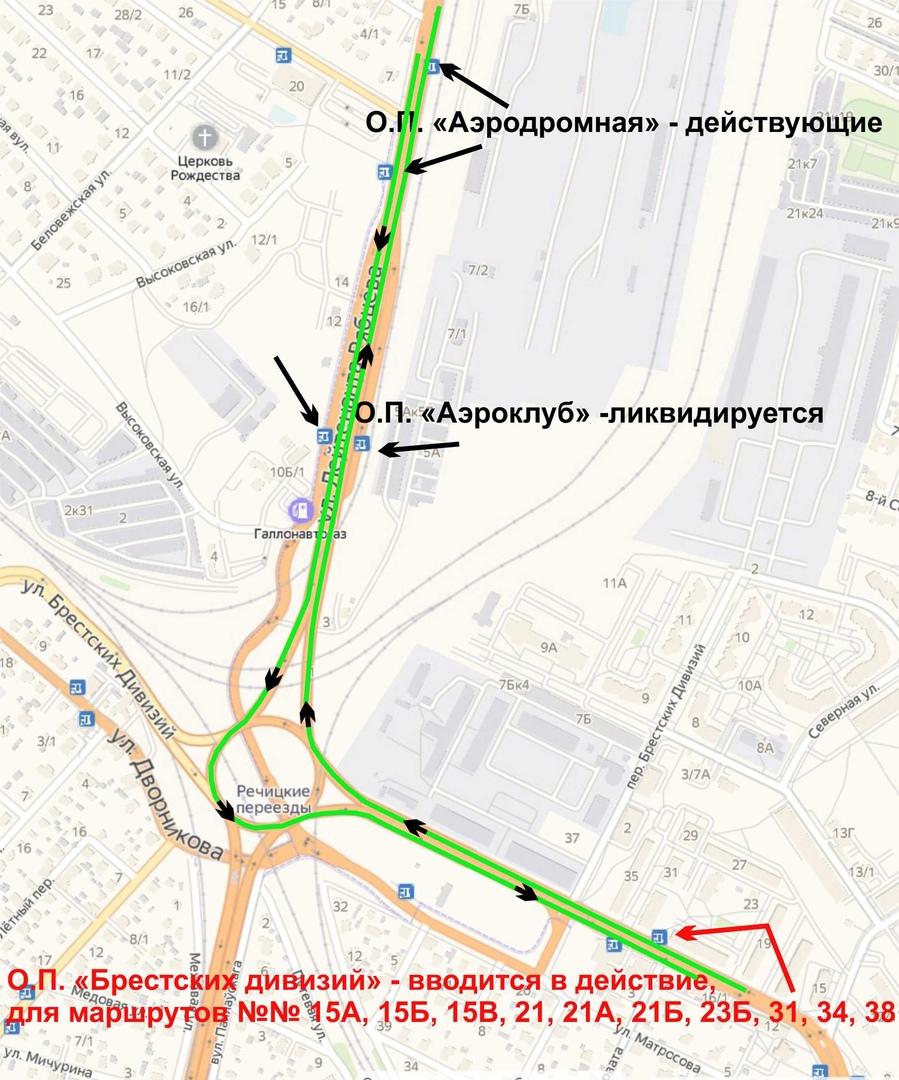 Ещё три автобусных маршрута начали движение по путепроводу Западного обхода