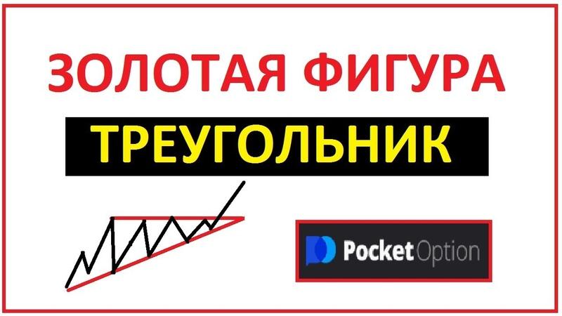 Фигура ТРЕУГОЛЬНИК на бинарных опционах. торгую на Покет Опшн,Pocket Option