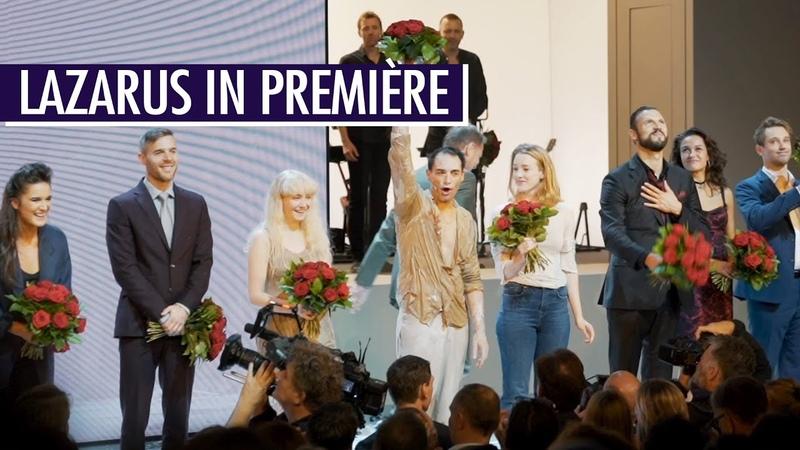 Laatste meesterwerk van Bowie beleeft Nederlandse première Lazarus