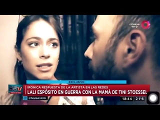 TINI habla sobre el ataque de su madre a Lali Espósito