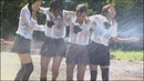 WETLOOK - JAPANESE GIRLS GETTING SPRAYED AND DRENCHED WITH HOSE WATER