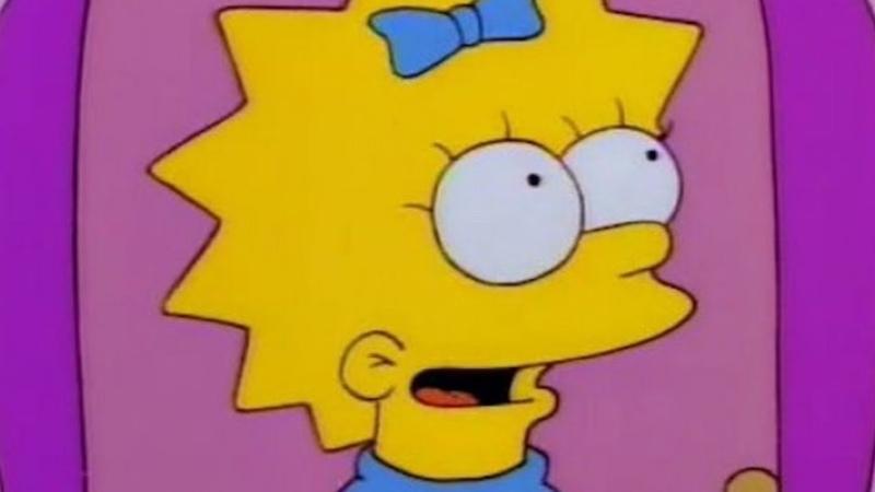 """Лучшие моменты с Мэгги Симпсон в Симпсонах"""""""