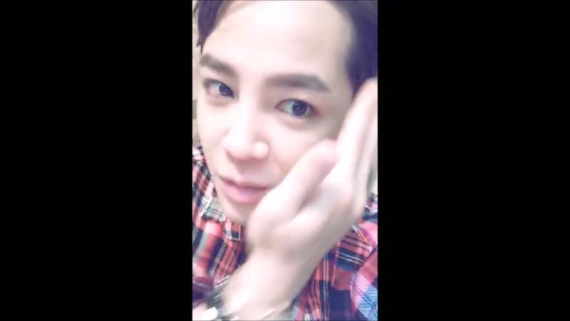 2016.8.27 Live video from Jang Keun Suk after the concert in Shanghai