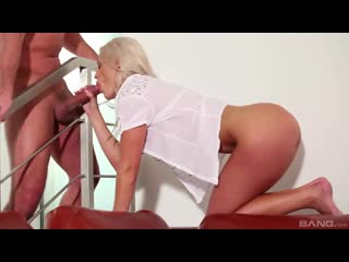 Blanche Bradburry - Fucks A Huge Cock Then Jerks It Off While Talking Dirty - Porno, All Sex Hardcore Blowjob Gonzo, Porn, Порно