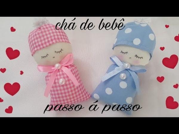 Lembrançinha para chá de bebê ou nascimento com Cris Pinheiro