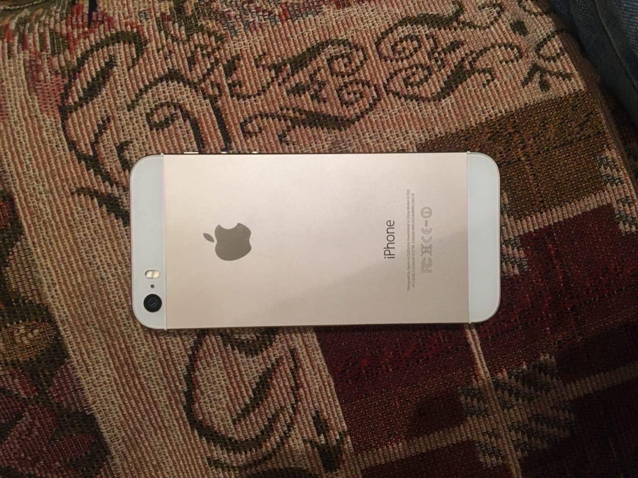 Купить iPhone 5s 16gb gold В очень хорошем | Объявления Орска и Новотроицка №279