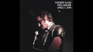 Vincent Gallo - Honey Bunny Live at RFH