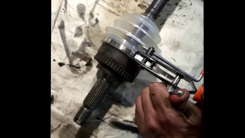 Замена пыльников Шрус Mitsubishi Galant vr 4 lancer Colt evolution mmc