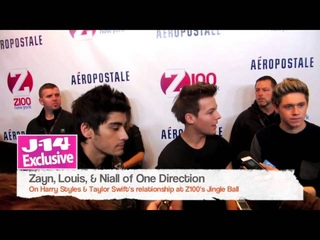 J-14 Exclusive: Louis Tomlinson and Ed Sheeran Talk Harry Styles and Taylor Swift Dating Rumors