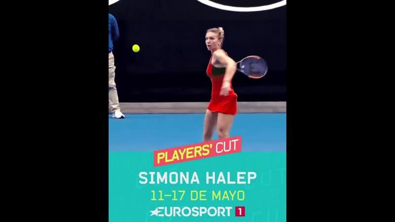 Simona Halep Eurosport