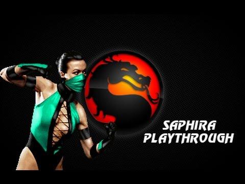 MKP 4 1 Season 2 MUGEN *NEW* Saphira Playthrough