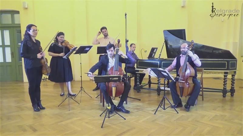 Johann Gottlieb Graun Concerto for viola da gamba and orchestra in a minor