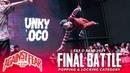 Nikkipop vs Funky Loco | Popping Locking Final Battle | Eat D Beat 2019 | RPProds