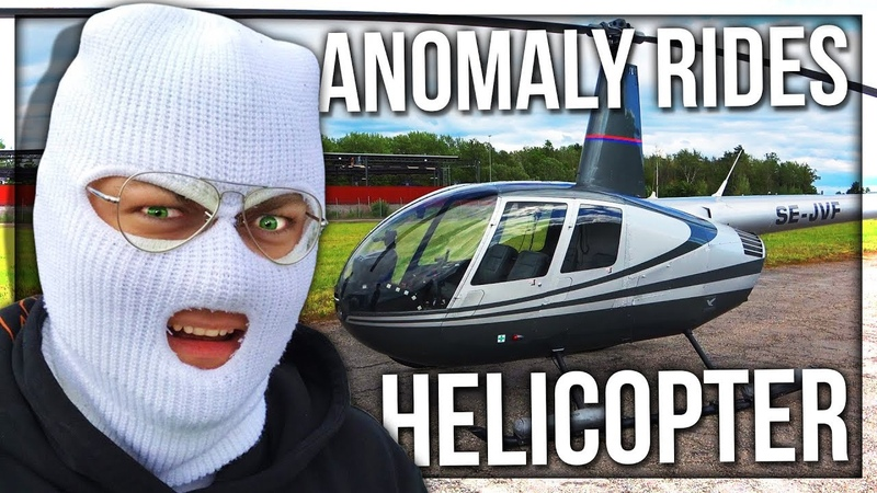 ANOMALY AND PAPANOMALY FLY A HELICOPTER