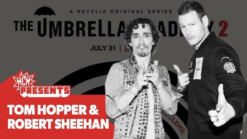 Umbrella Academy cast on who's the Best Dancer with Robert Sheehan Tom Hopper