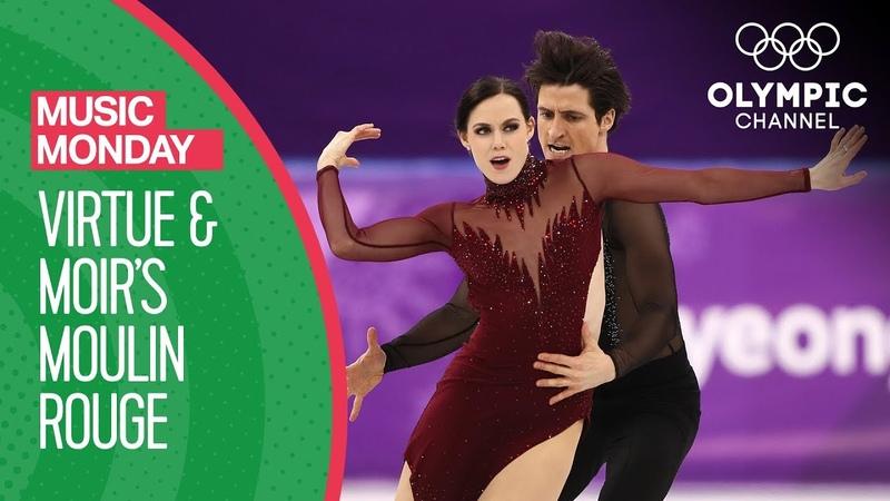 Tessa Virtue and Scott Moirs Moulin Rouge at PyeongChang 2018 | Music Mondays